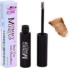 Mommy Makeup Brow Tint with Microfibers. Eyebrow Makeup - Long Lasting Eyebrow Gel. Clump-Free, Paraben-free, Talc-free, Made in USA. PETA Certified No Animal Testing - Auburn