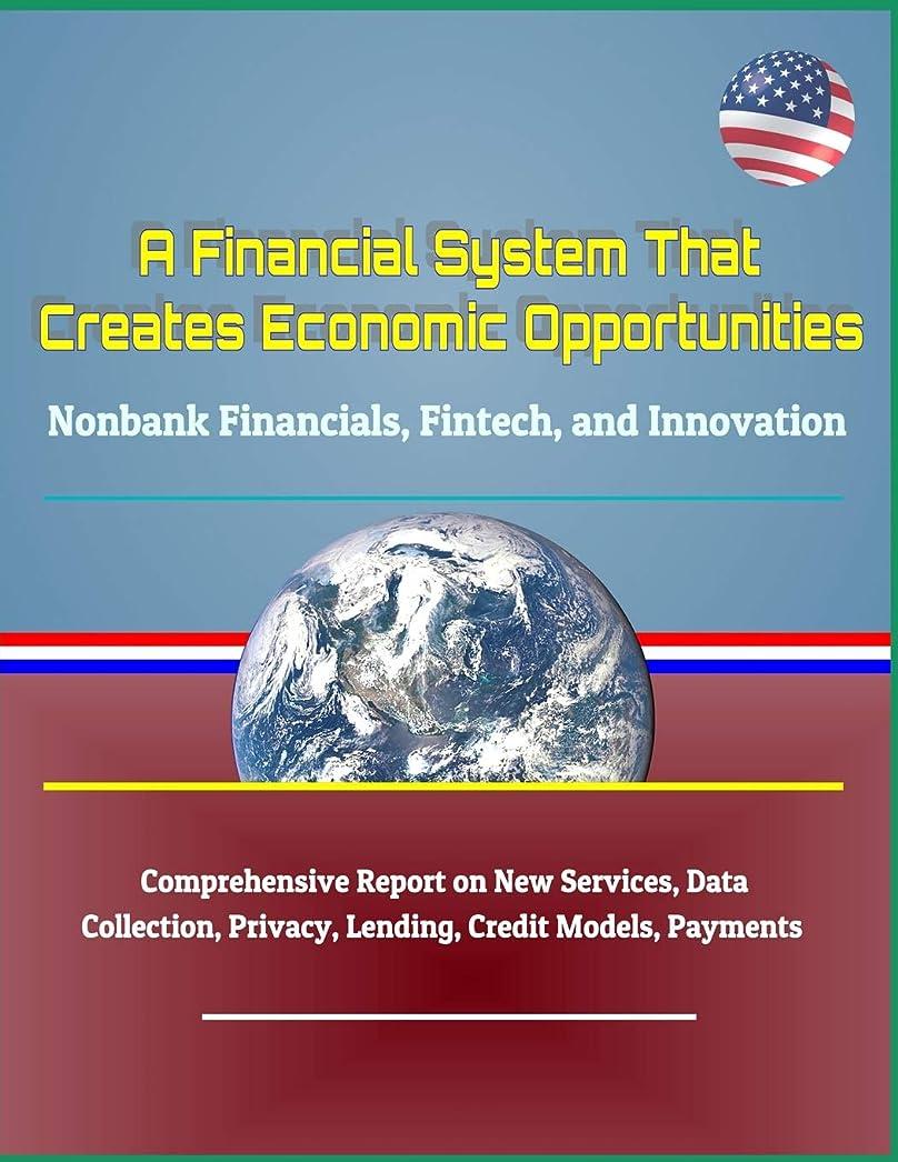 威信受益者落ち着いてA Financial System That Creates Economic Opportunities: Nonbank Financials, Fintech, and Innovation - Comprehensive Report on New Services, Data Collection, Privacy, Lending, Credit Models, Payments