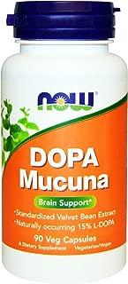 Now Foods, Dopa Mucuna, 90 Veggie Caps - 2PC
