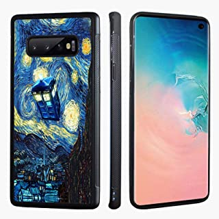 VONDER Galaxy S10 Case, The Starry Night Doctor Who TPU Phone Case Cover Compatible for Samsung Galaxy S10