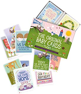 Best twin milestone cards Reviews