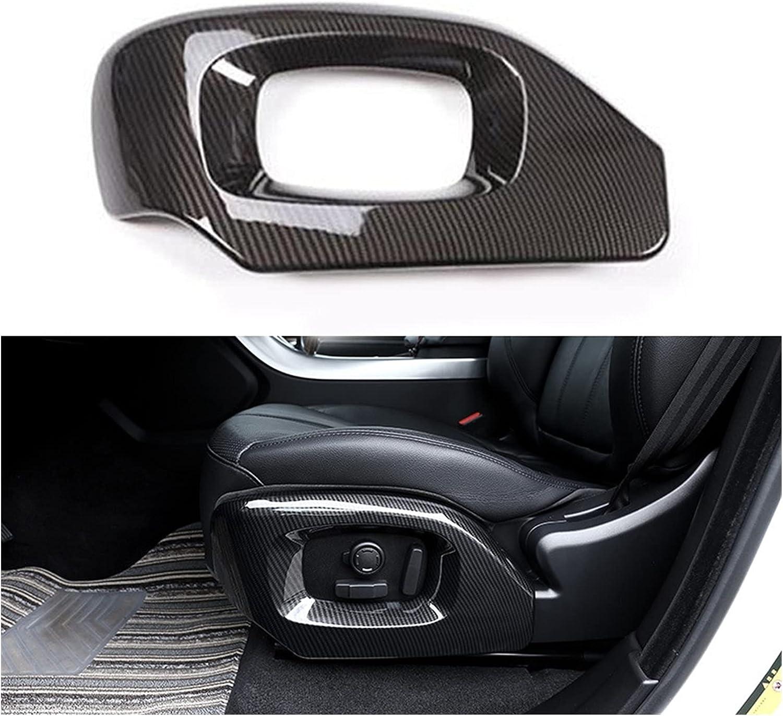 Anteprima Car Carbon Chrome Seat Accessori Frame Side Trim Max 62% Popular standard OFF Cover