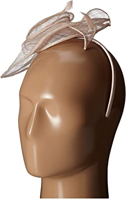 San Diego Hat Company DRS1006 Dressy Fascinator with Rosette and Featheres Perfect For The Derby