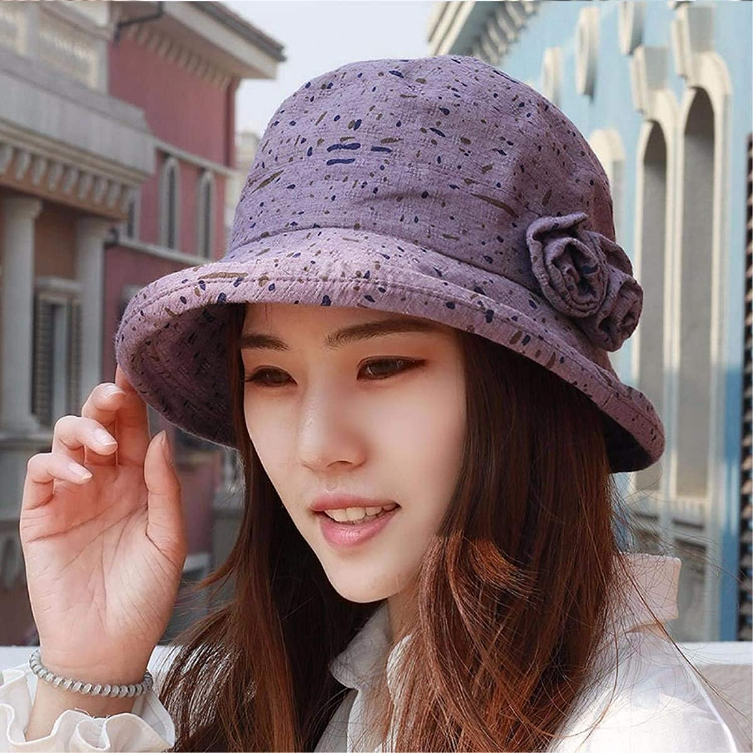 Dianye Hat the girl basin cap the cap spring and summer visor hats video thin mother Cap