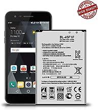LG Phoenix 3 Battery, Replacement Battery for LG Aristo MS210 (Metro PCS & T-Mobile), LG Fortune M153, K8 2017, LG LV3 BL-45F1F