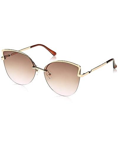 ba81ea0f7ee7 Black and Gold Sunglasses  Amazon.com