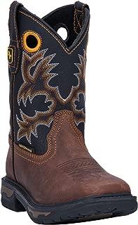 Dan Post Boys' Ridge Runner Western Boot Wide Square Toe