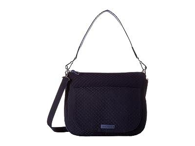 Vera Bradley Carson Shoulder Bag (Classic Navy) Shoulder Handbags