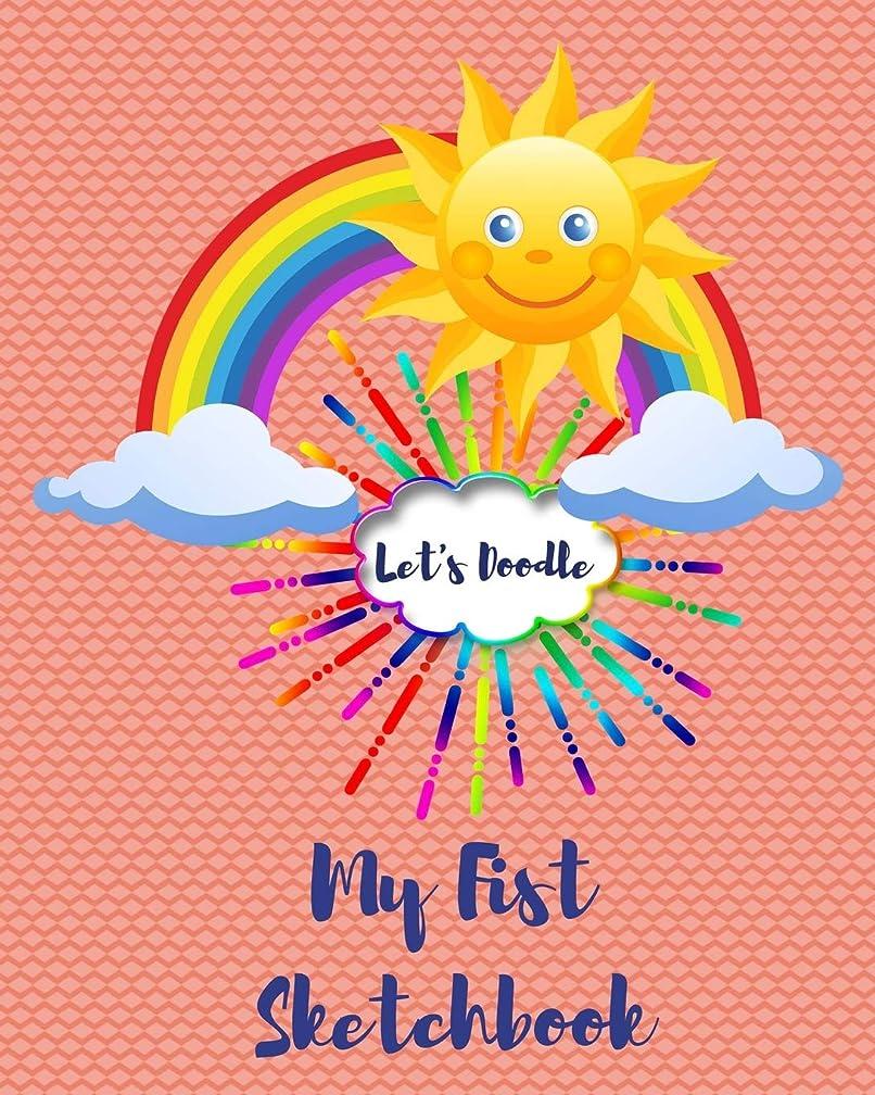 整理するプロペラペチコートLet's Doodle My First Sketchbook: Happy Sunburst 8 x 10 Cute 100 Page Book for Doodles, Drawings, Writing and Coloring to Inspire Art in Children