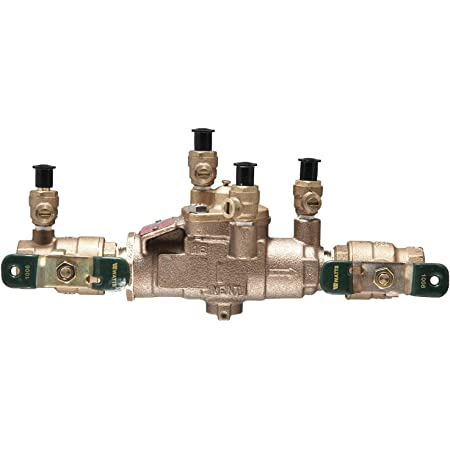 "Watts 3/4"" Lead Free Reduced Pressure Zone Assembly, Quarter Turn Shutoff Valves"