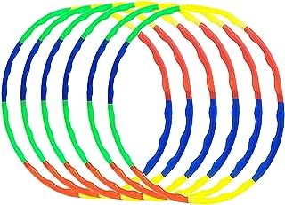 DIAMETRO 75CM Color Amarillo Softee Equipment Hula Hoop