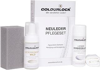 COLOURLOCK Neuleder Pflegeset Mild mit Leder Versiegelung 150ml und Lederreiniger Mild 125ml