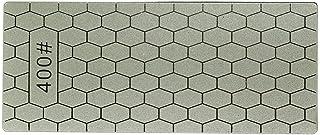 Garciasia 400/1000 Granos Cuchillos de Piedra de Afilado de Diamante Fino Placa de Diamante Afilador de Cuchillos de Piedra de afilar Afilador Herramientas de Afilado de Cuchillas (Color: Gris)