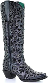 Best corral black inlay boots Reviews