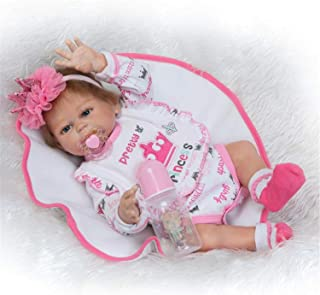 Lullaby 20inch Newborn Reborn Baby Dolls Girl Anatomically Correct Handmade Reborn Dolls Silicone Full Body Kids Toys