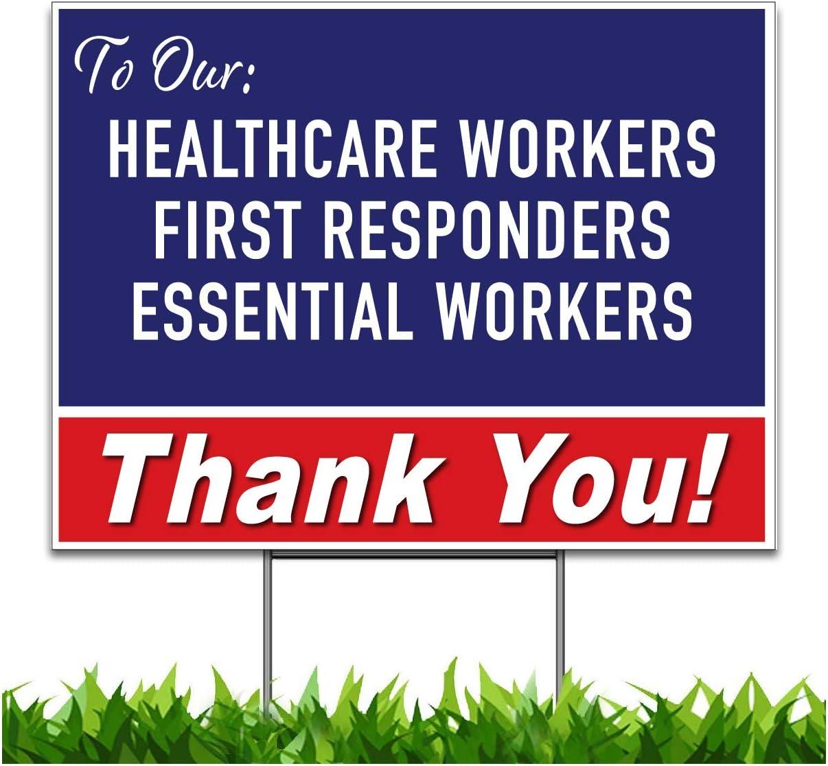 Moonlight4225 新品未使用正規品 Thank You Stay 品質検査済 Safe Health First Care Responders