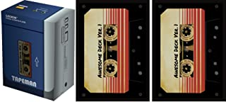 Set of Legion Supplies Cassette Deck Box and 100 Sleeves