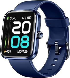 Dirrelo - Reloj inteligente para teléfonos Android compatible con iPhone, pantalla táctil de 1,69 pulgadas, Alexa integrad...