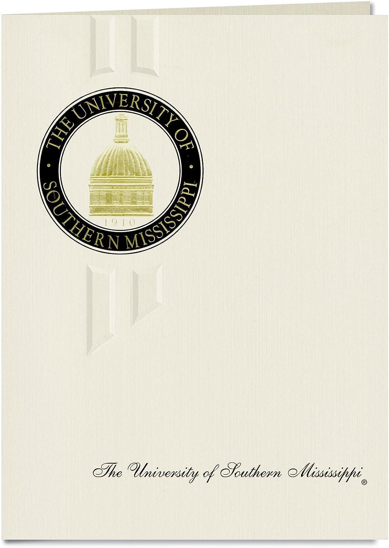 Signature Signature Signature Ankündigungen Universität von Southern Mississippi Abschluss Ankündigungen, eleganten Stil, Elite Pack 20 mit u. der Southern Mississippi Dichtung Folie B0793FC4QT  | Haltbar  10e7a0