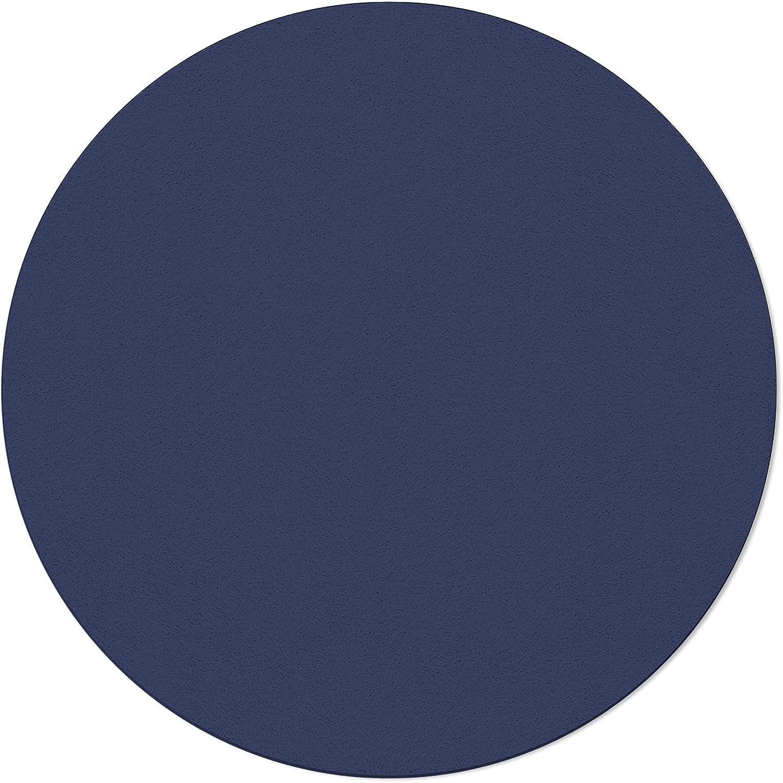ARTSHOWING Solid Color Round Area Rug Floor Under blast sales 5ft C Non-Slip Soft Max 88% OFF