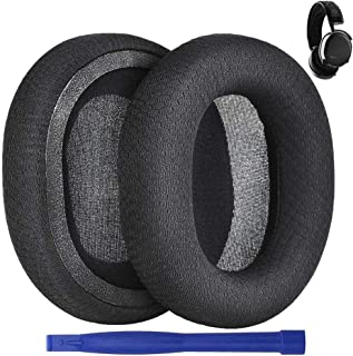 Arctis 7 Earpads Replacement, Professional Ear Cushion Cups Replacement Leather Ear Pads Foam Cushions Cover Earmuffs for ...