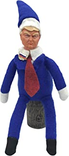 Trump On a Stump Stuffed Stereotypes Donald Trump Doll Plush Novelty Gag Gift | Funny Collectible White Elephant Toy | Hilarious Presidential Political Prank | Liberal and Conservative