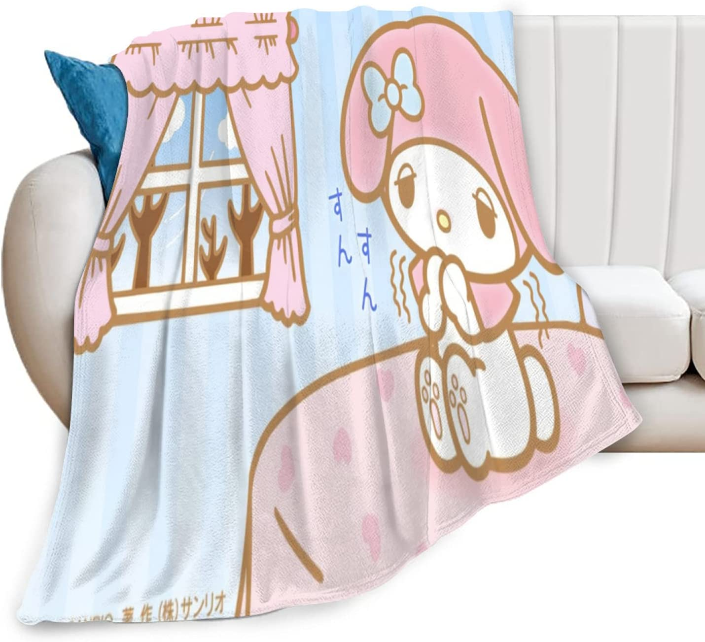 Sanrio mymelody Blanket Throw Super Soft Plush Hypoallergenic Be Seattle Manufacturer direct delivery Mall