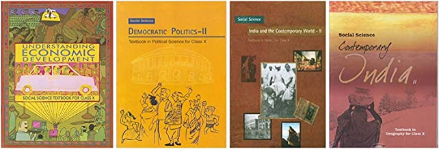 NCERT HISTORY,GEOGRAPHY,ECONOMICS,CIVICS BOOKS FOR CLASS 10