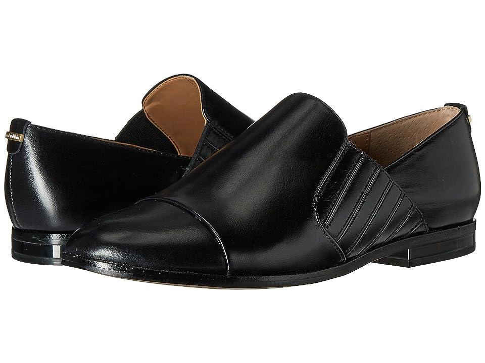 Calvin Klein Cella (Black Crackled Leather) Women