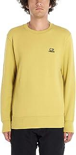 CP COMPANY Luxury Fashion Mens 07CMSS001A005086W216 Yellow Sweatshirt | Season Permanent