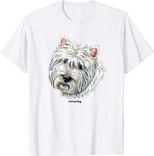 Westie Dog Face T-Shirt
