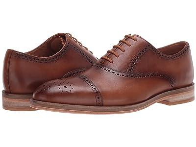 Clarks Oliver Limit (Tan Leather) Men