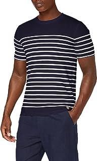 Armor Lux Men's Marinière Etel Héritage Homme T-Shirt