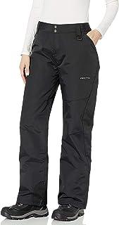 Arctix Women's Mountain Premium Slim Fit Ski Pants, Medium, Black