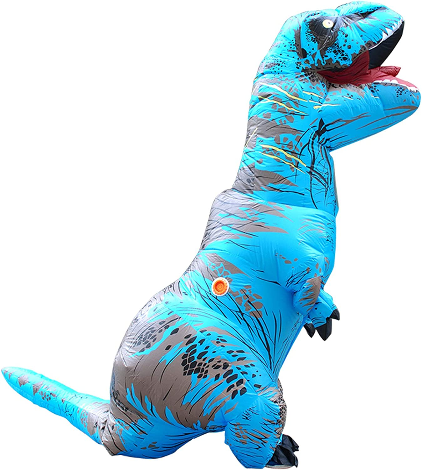 DMMASH Inflatable Costumes Halloween Dinosaur Fancy Dress Adult Men Women Blowup