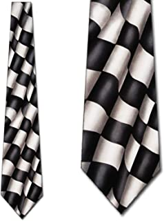 Checkered Flag Racing Mens Tie