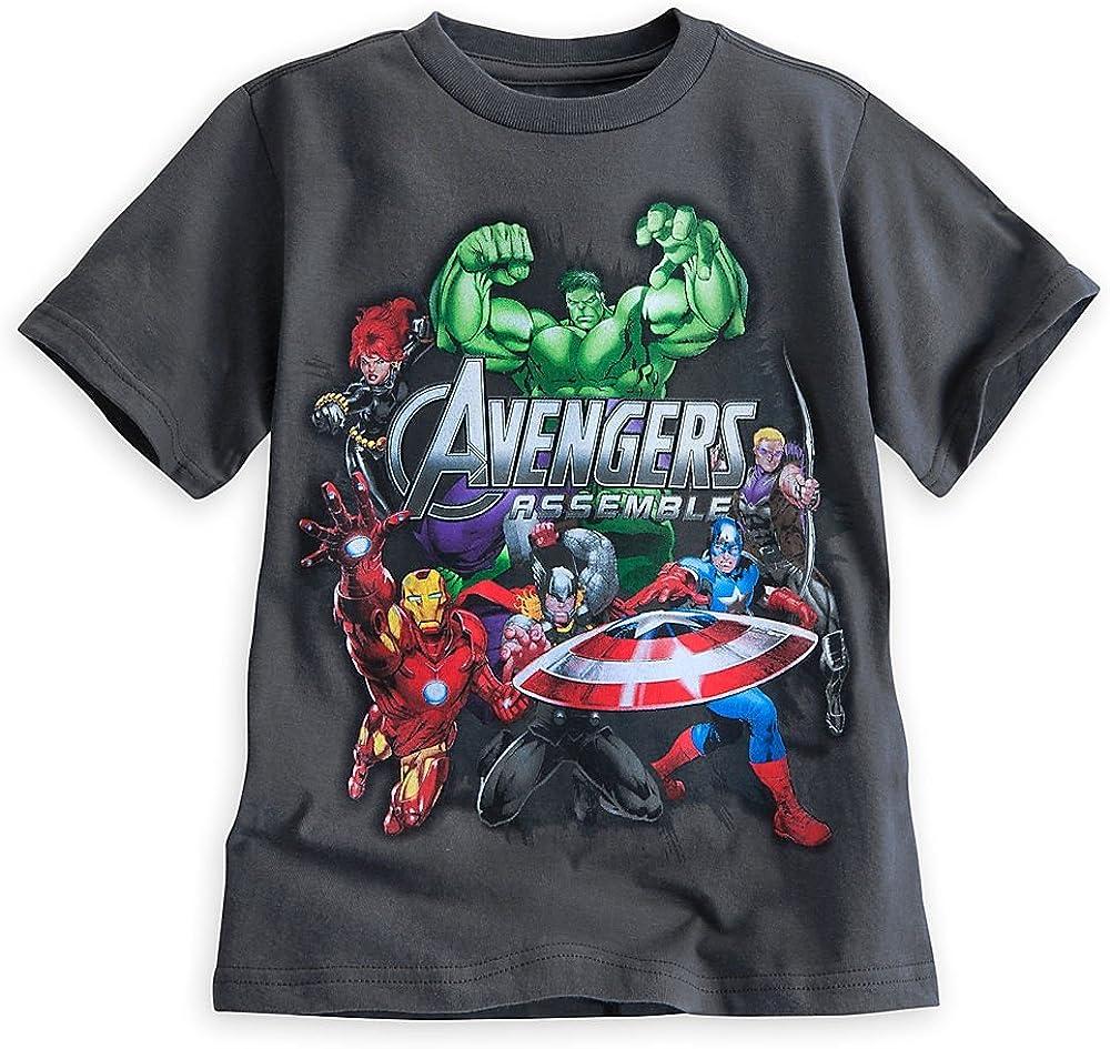 Disney Store Marvel Avengers Boy Short Sleeve T Shirt (S 5/6)
