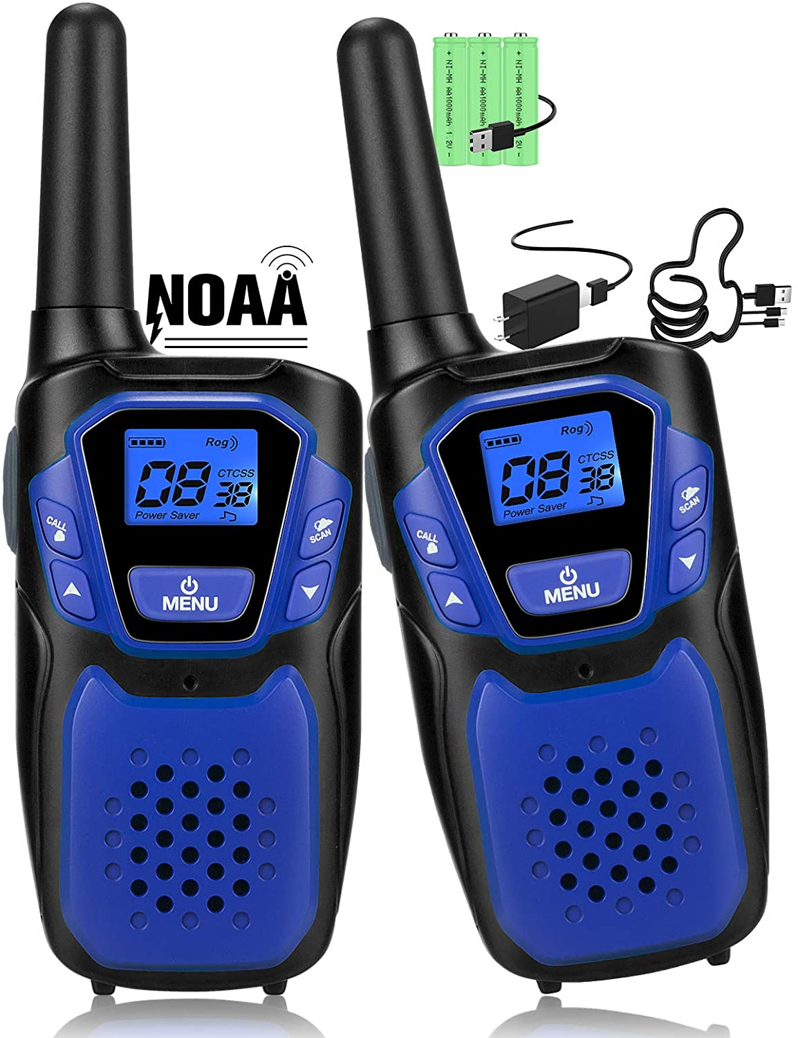 Walkie Talkies High material for Adult Easy to Use Wa Outstanding Long Rechargeable Range