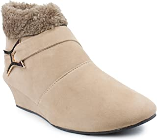 CATT Stylish & Fashionable Suede Ankle Boot's for Women