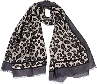 Clearance Leopard Print Scarf DEATU Women Winter Warm Scarves Ladies Long Wraps Shawl Hot Sale