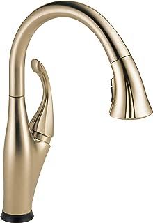 delta arabella pull-down kitchen faucet 19950-sssd-dst