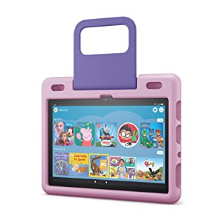 Amazon Kid-Friendly Case for Fire HD 10 tablet | Only compatible with 11th gen. tablet (2021 release), Lavender