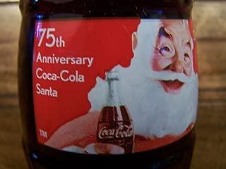 Coca-Cola 2006 Christmas Holidays Santa 75th Anniversary Bottle New Unopened 8 oz