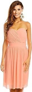 Mayaadi Kleid Spitzen-Kleid Ball-Kleid Fest-Kleid Abend-Kleid Party-Kleid Cocktail-Kleid HS-374