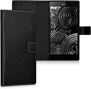 kwmobile Wallet Case for Sony Xperia Z Ultra - Protective PU Leather Flip Cover with Magnetic Closure, Card Slots and Kick...