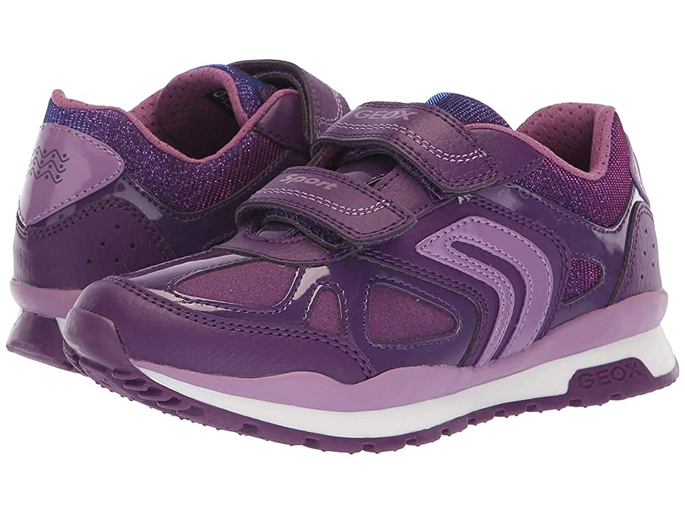Geox Kids Pavel Girl 1 (Little Kid/Big Kid) (Prune/Lavender) Girl