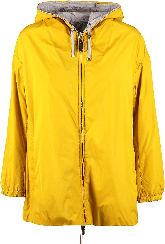 Max Mara Women's 90212297000001 Yellow Polyamide Outerwear Jacket