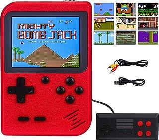 RXYYOS Consoles De Jeux Portable Retro FC, 3 Pouces Non répétitif 400 Jeux Classiques Console de Jeux vidéo rétro Prise en...