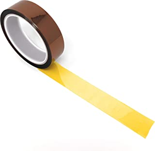 APT, (1'' x 36 Yds (108FT)), 1 mil Thick Polyimide Adhesive Tape, high Temperature and Heat Tape, for Masking, Soldering, Electrical, 3D Printer Application. (1 Inch)