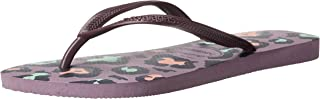 Women's Slim Animal Flip Flop Sandal